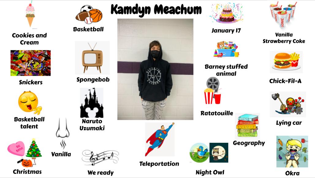 Jr. High Student Kamdyn Meachum