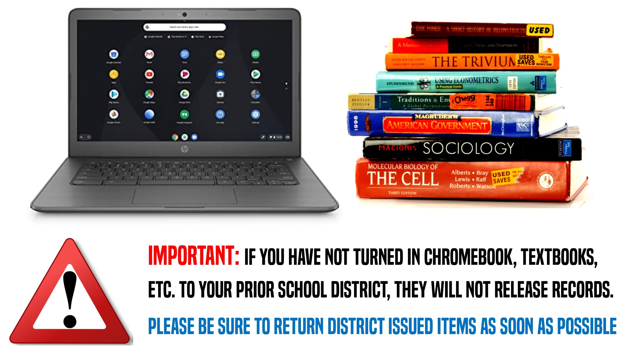Return Items to Prior District