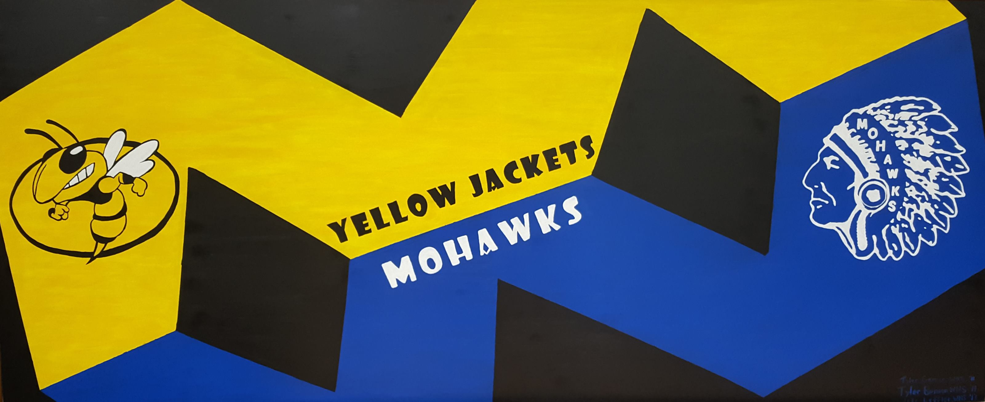 Yellow Jackets Mohawks