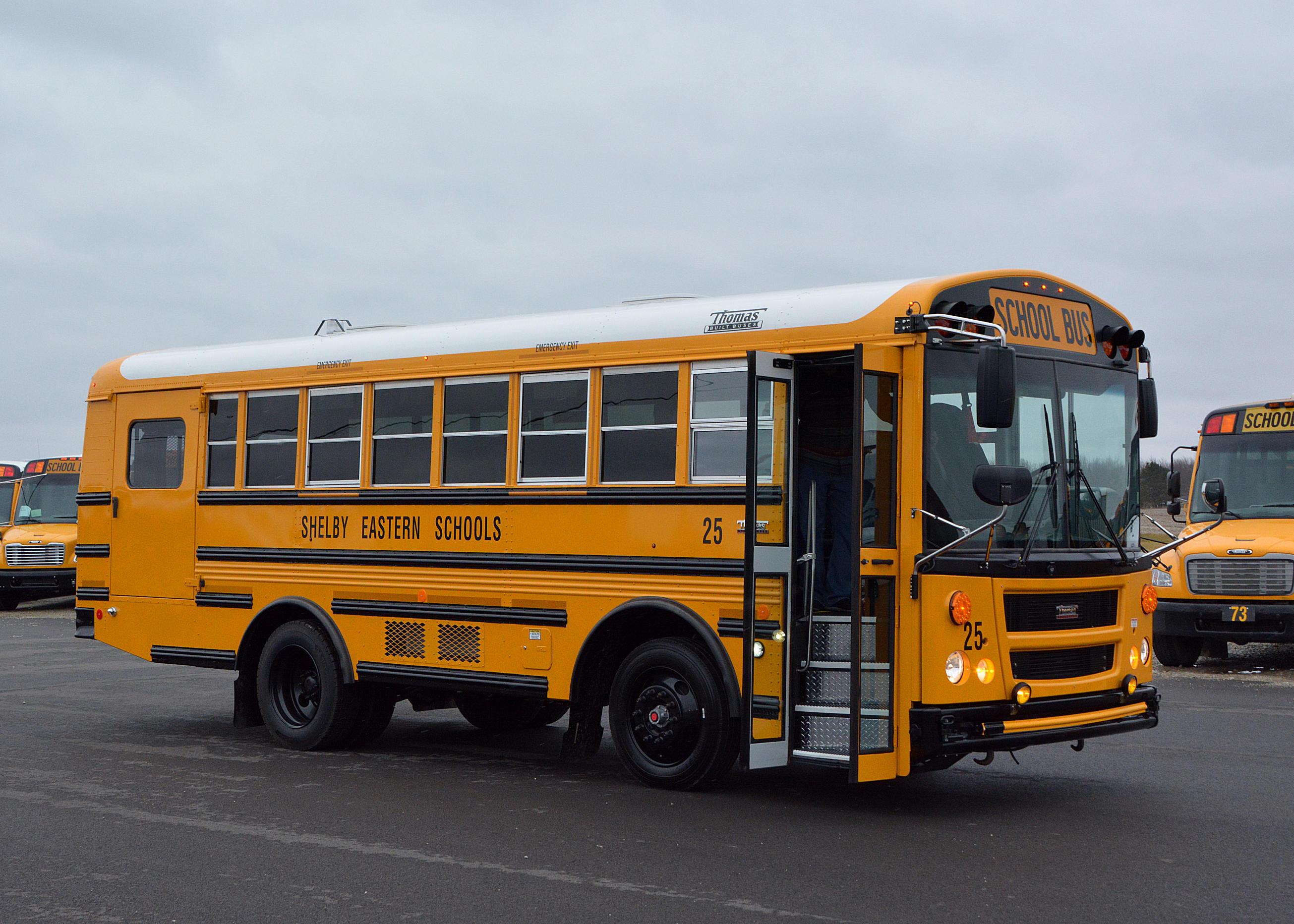 Special Education School Bus