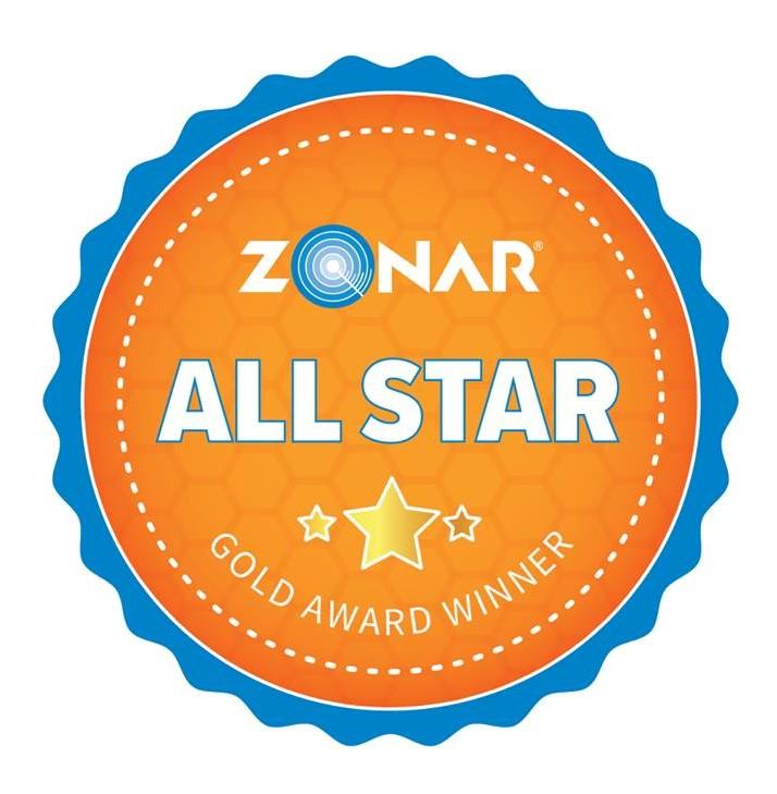 Zonar GOLD Award Winner