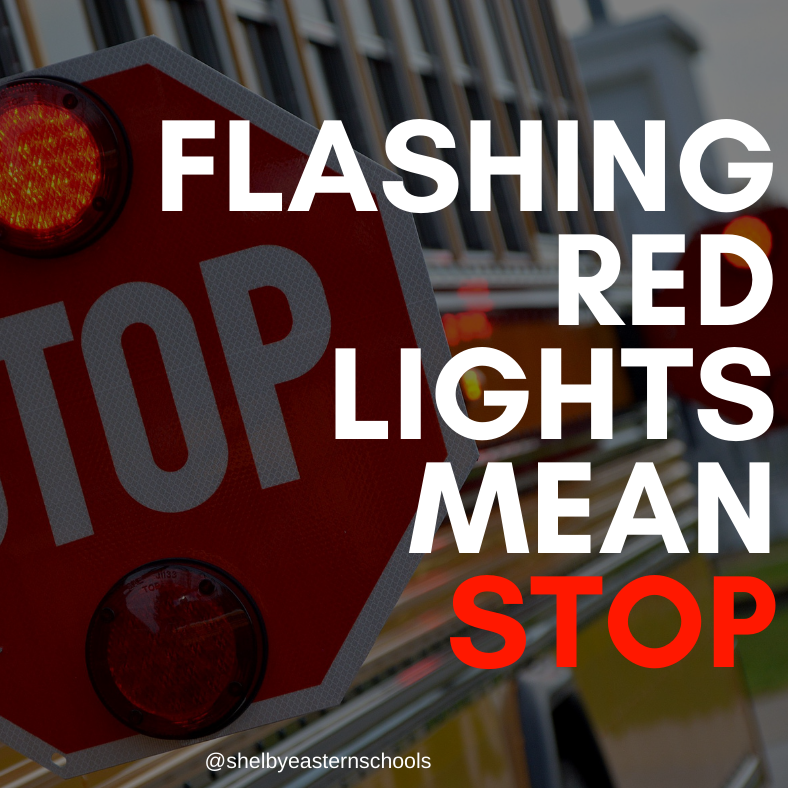 Flashing Red Lights Mean Stop