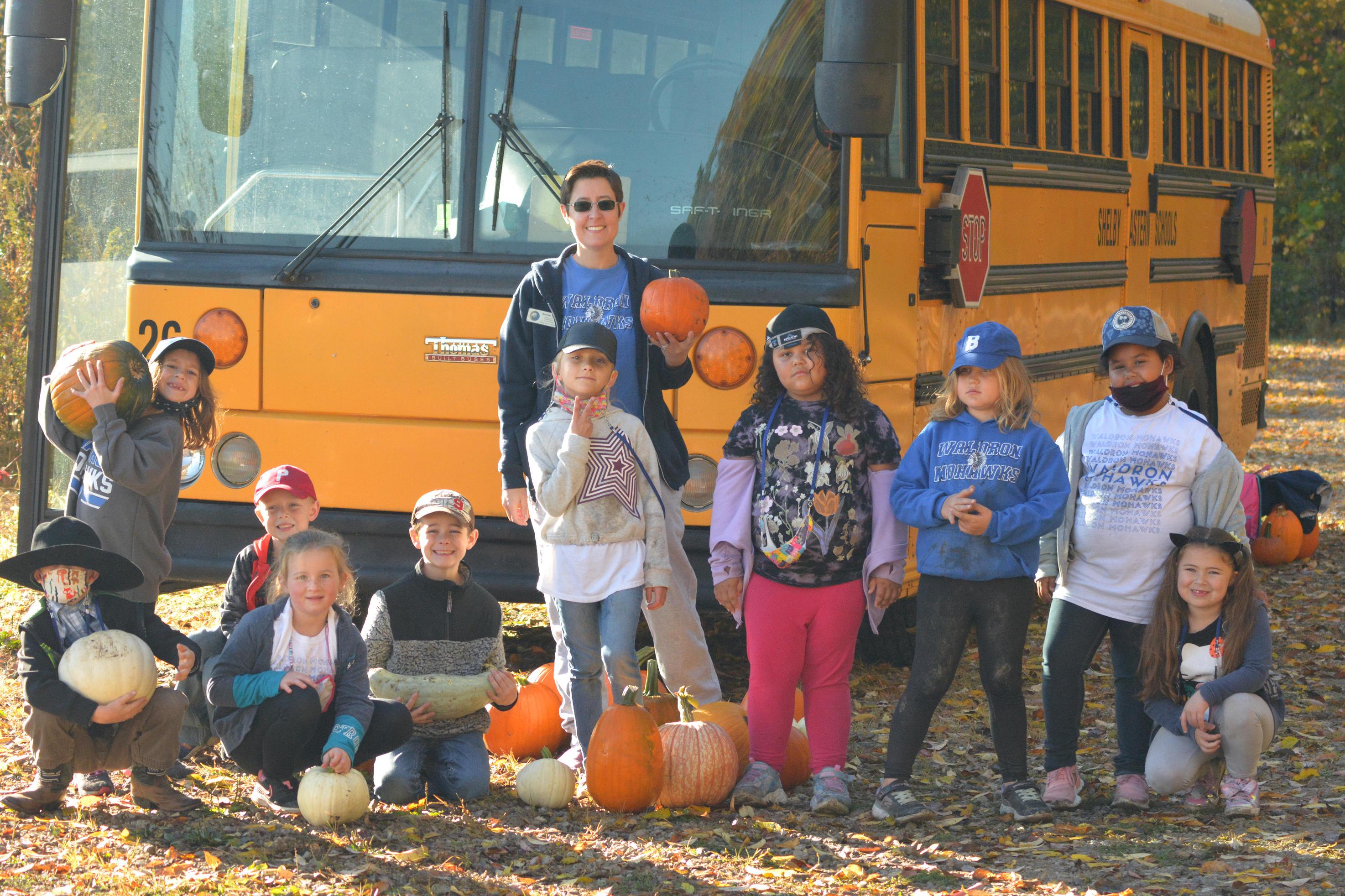 Kids on Field Trip