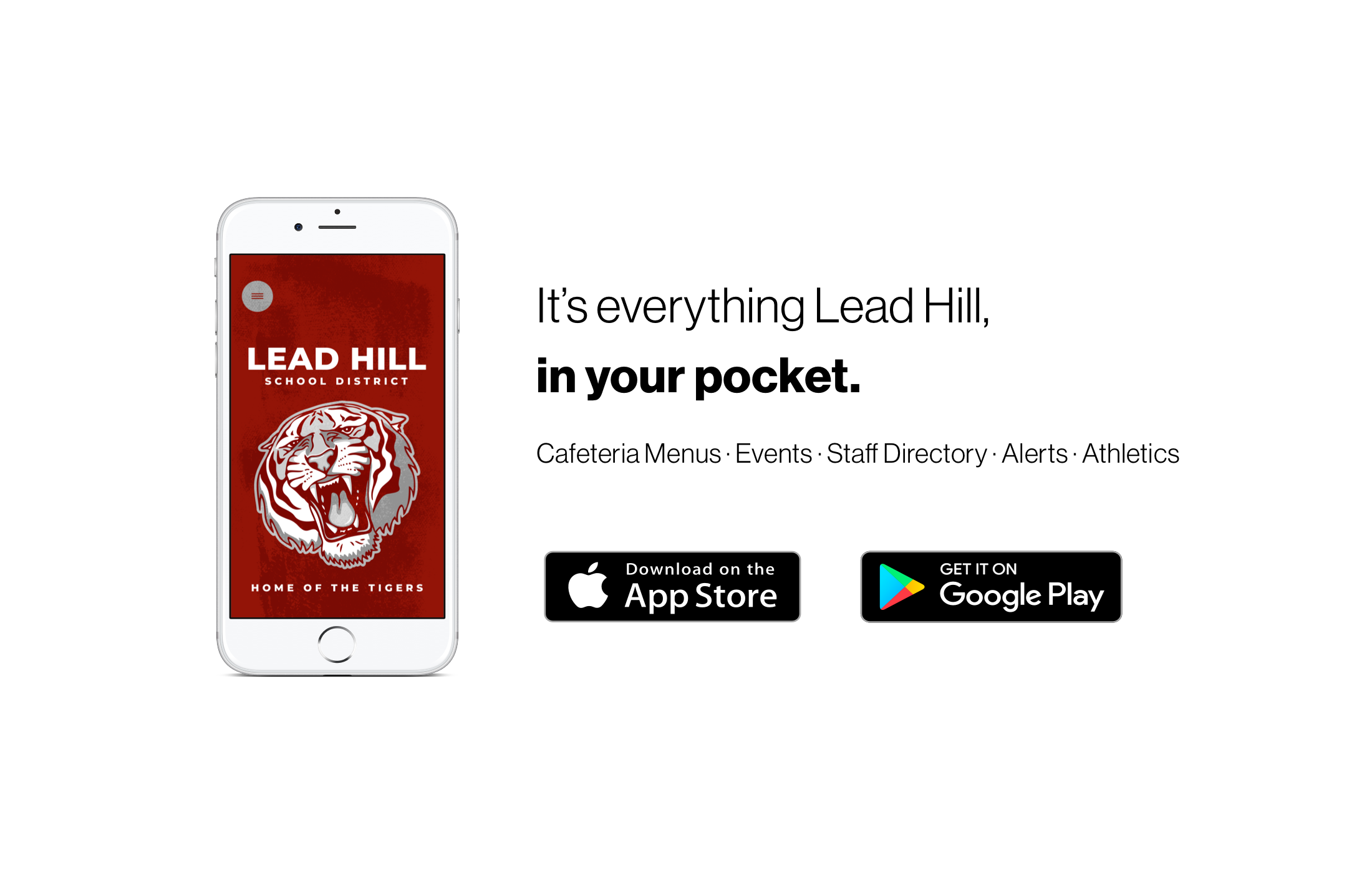 Download our new mobile app! It's everything Lead Hill in your pocket.
