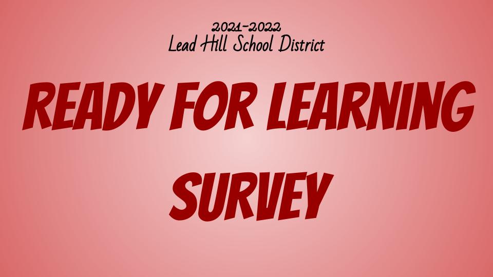 RFL Survey
