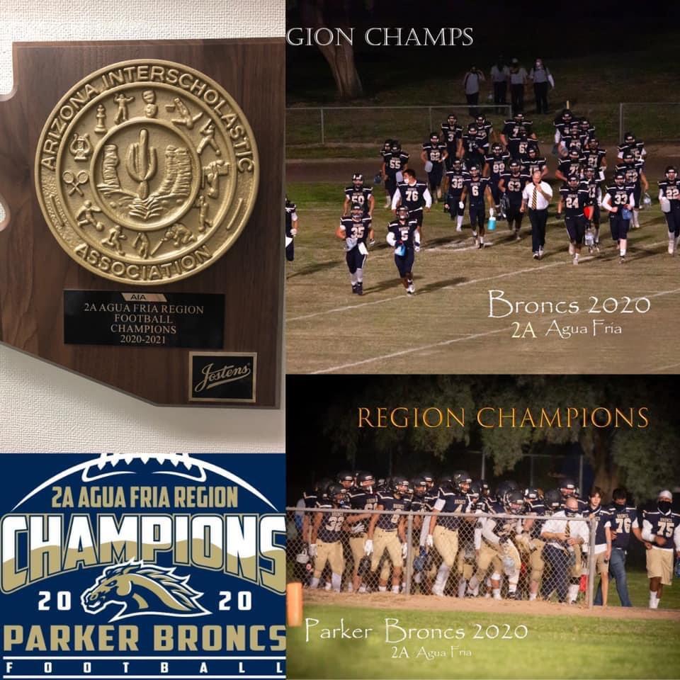 PHS Regions champions 2020 football