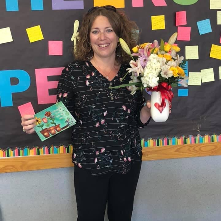 teacher of the year for the district 2021