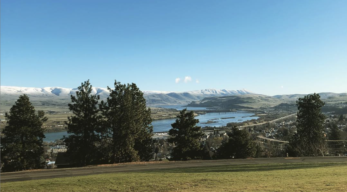View of The Dalles, OR from Columbia Gorge Education Service District