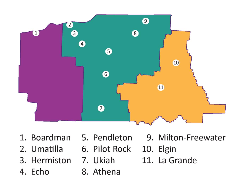PSP locations
