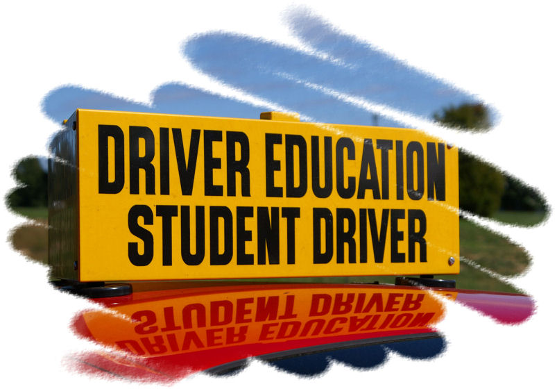 Drivers Education Sign