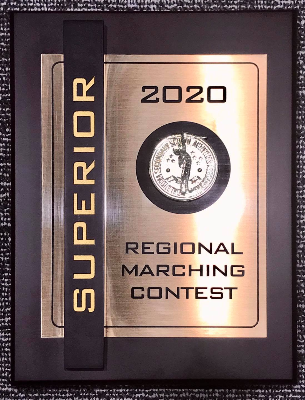 Band Regional Plaque