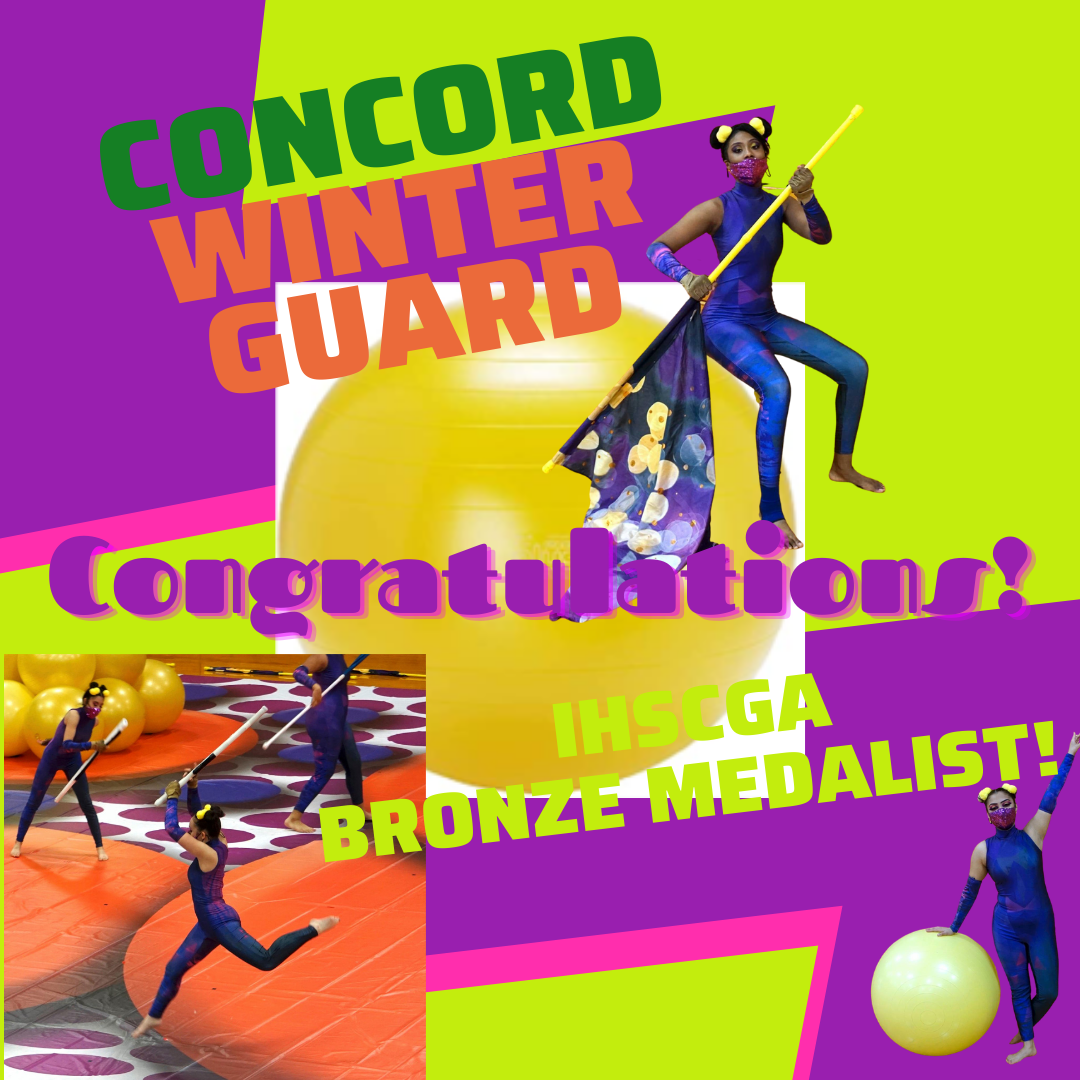 Our Winter Guard is headed to State Finals. See them in action for their final performance in Elkhart!