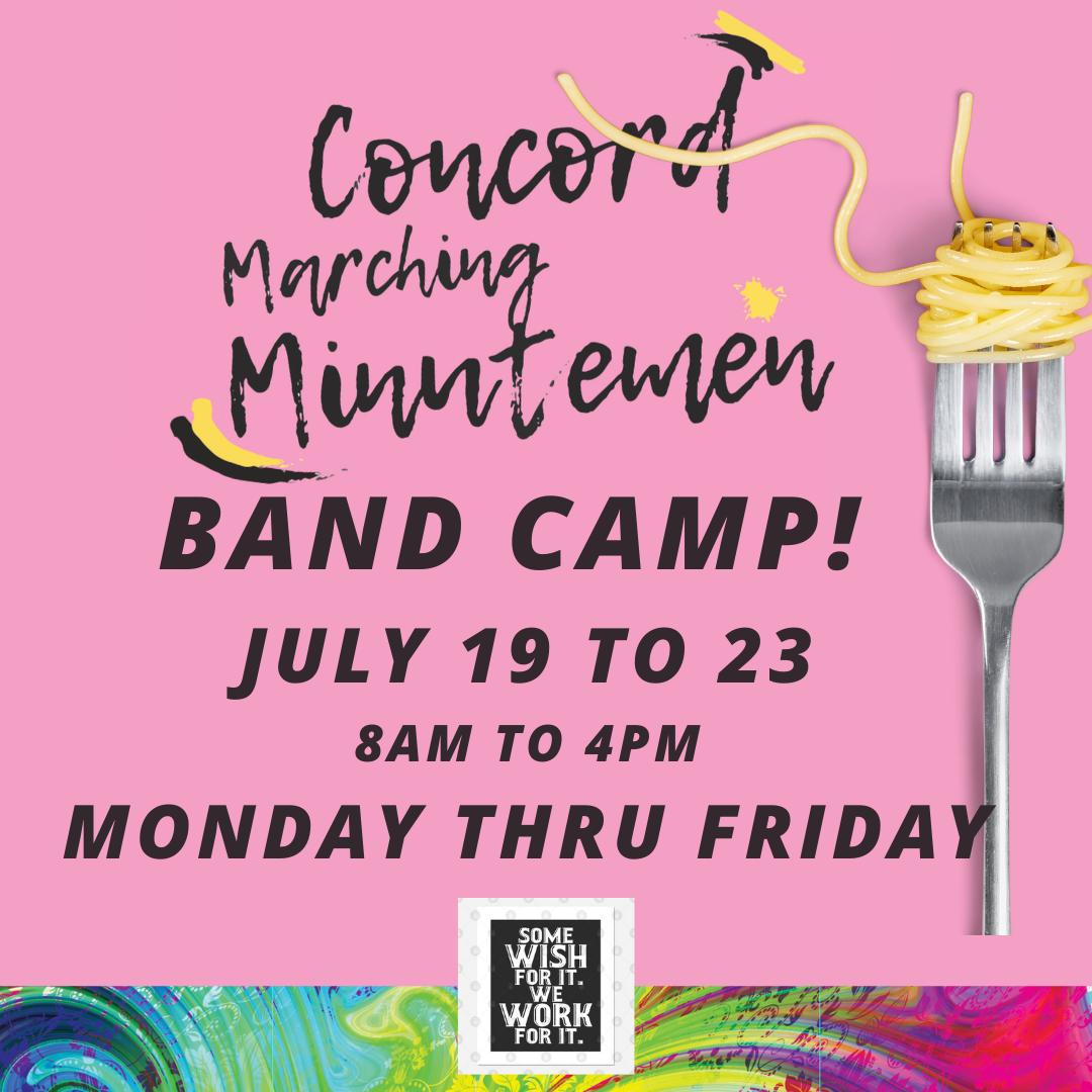 Band Camp week!