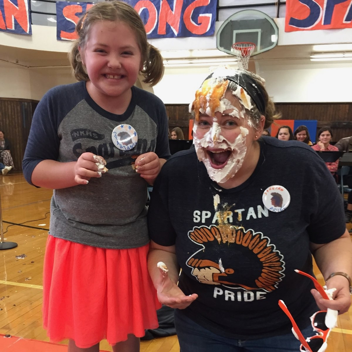 pie face for homecoming