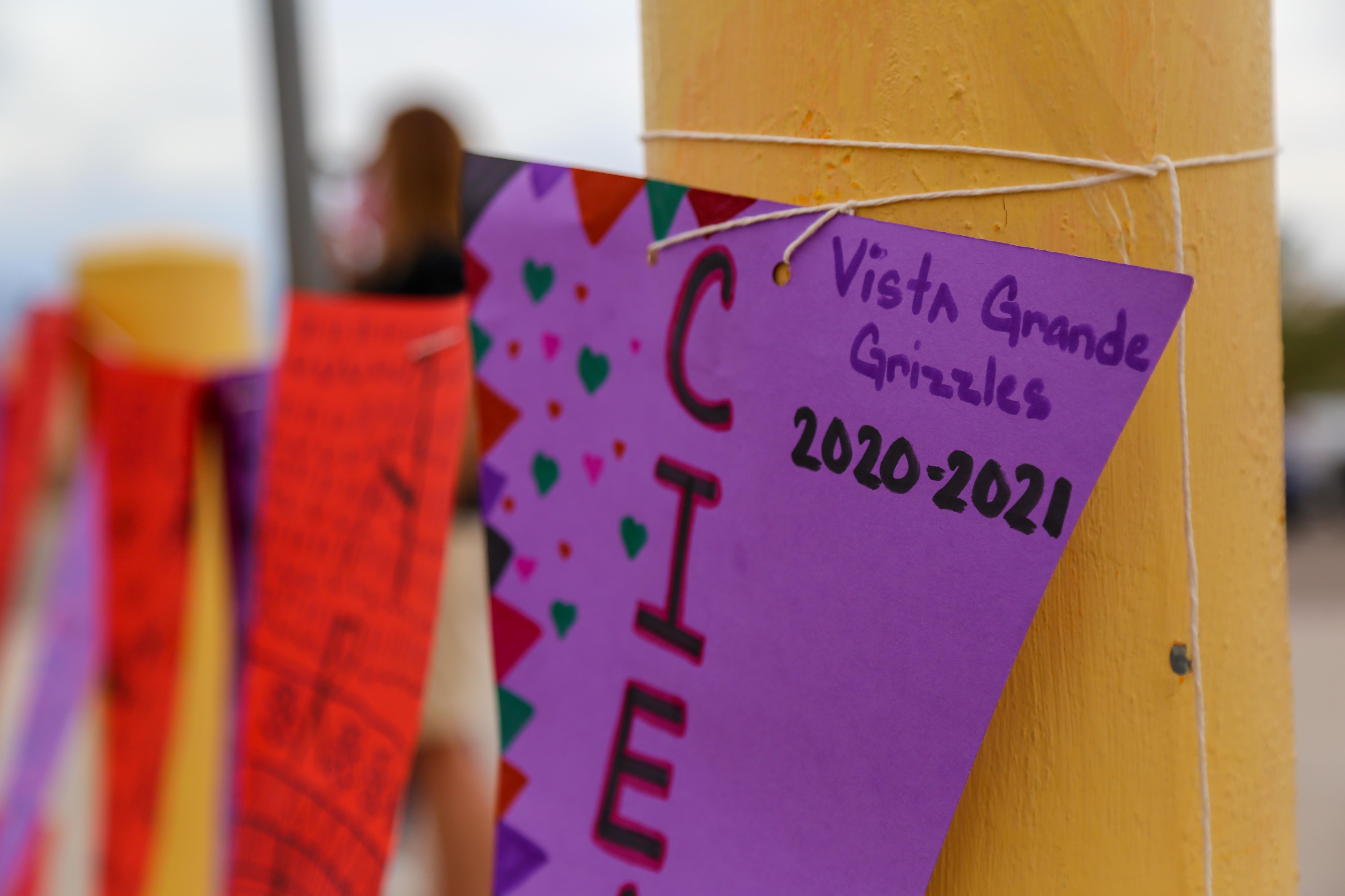 Vista Grande Elementary School sign