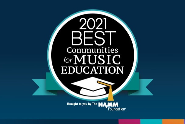 fine arts 2021 Award for best communities for music education