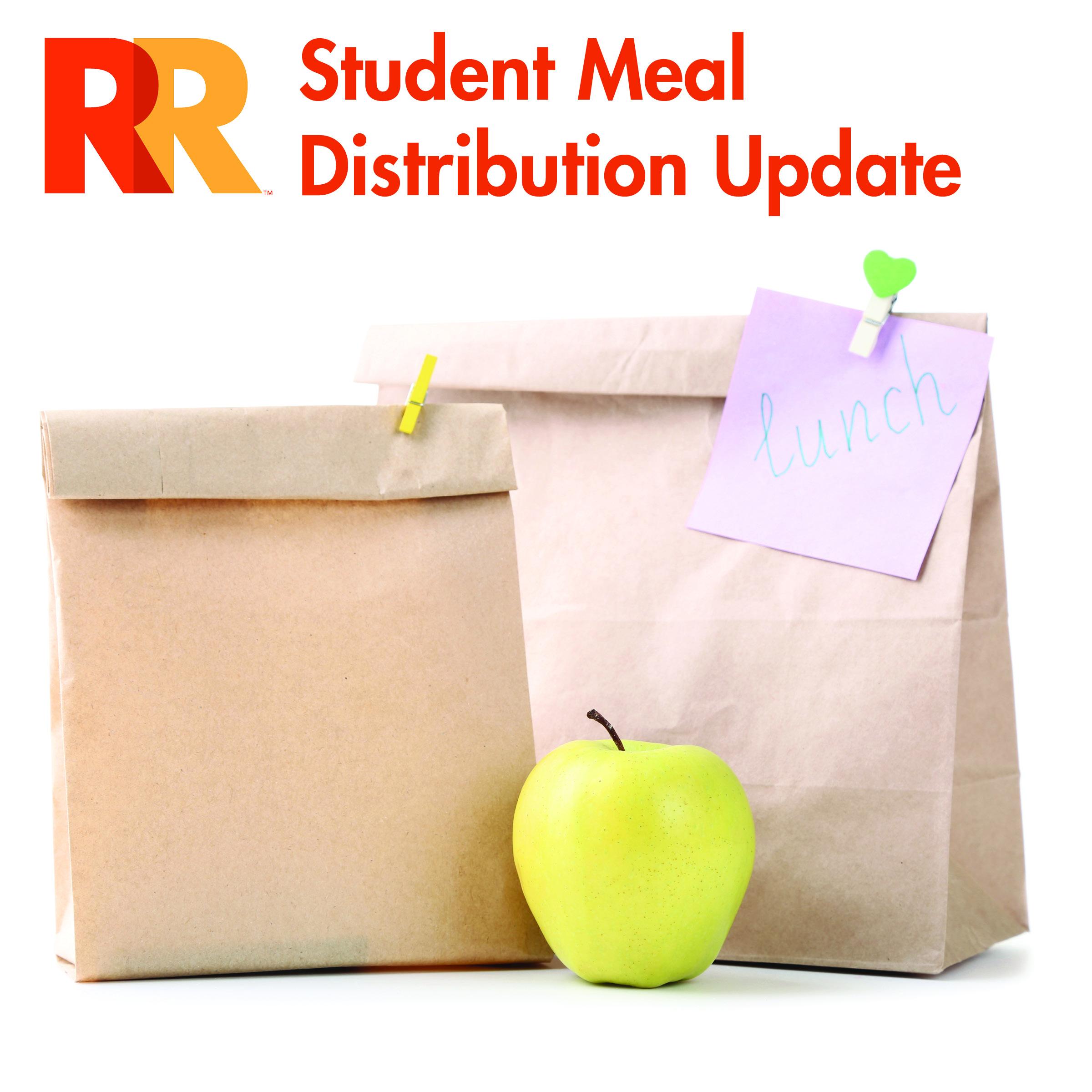 student meal distribution