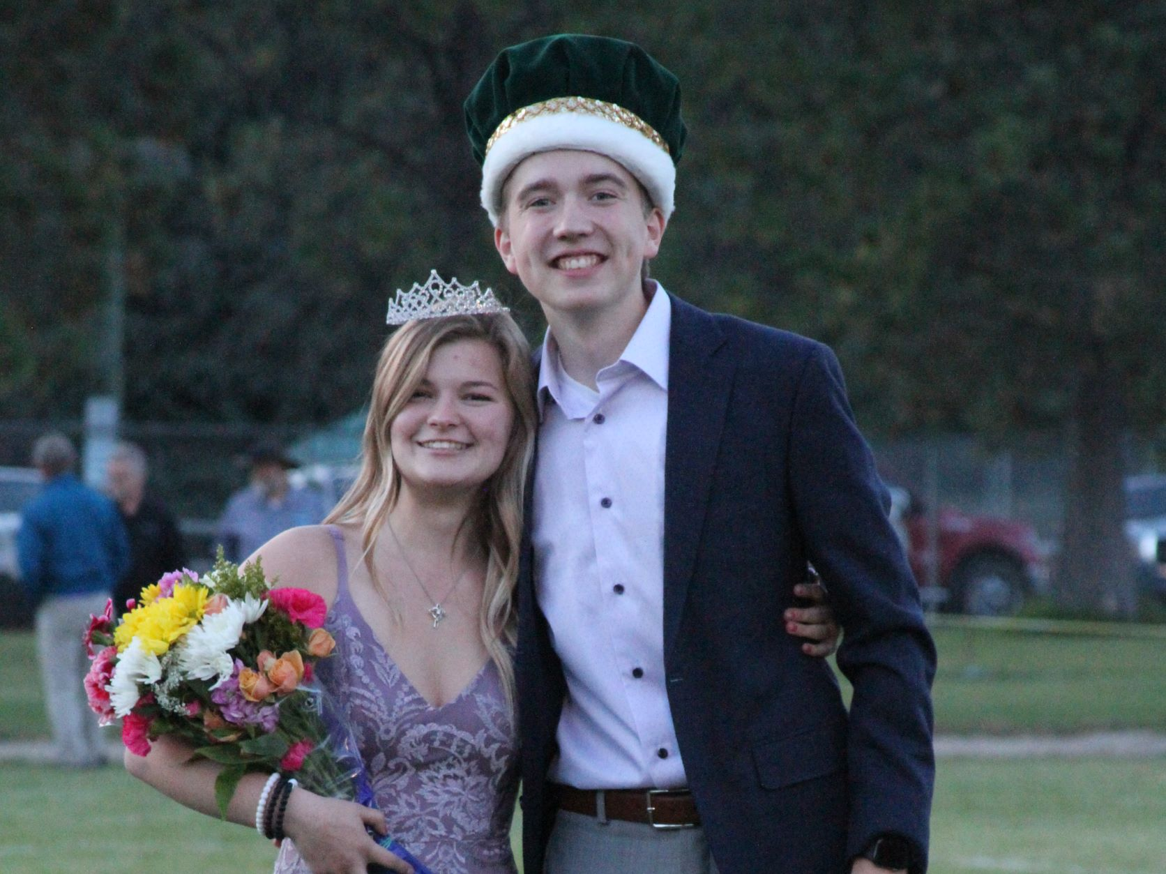 2021 Homecoming King and Queen