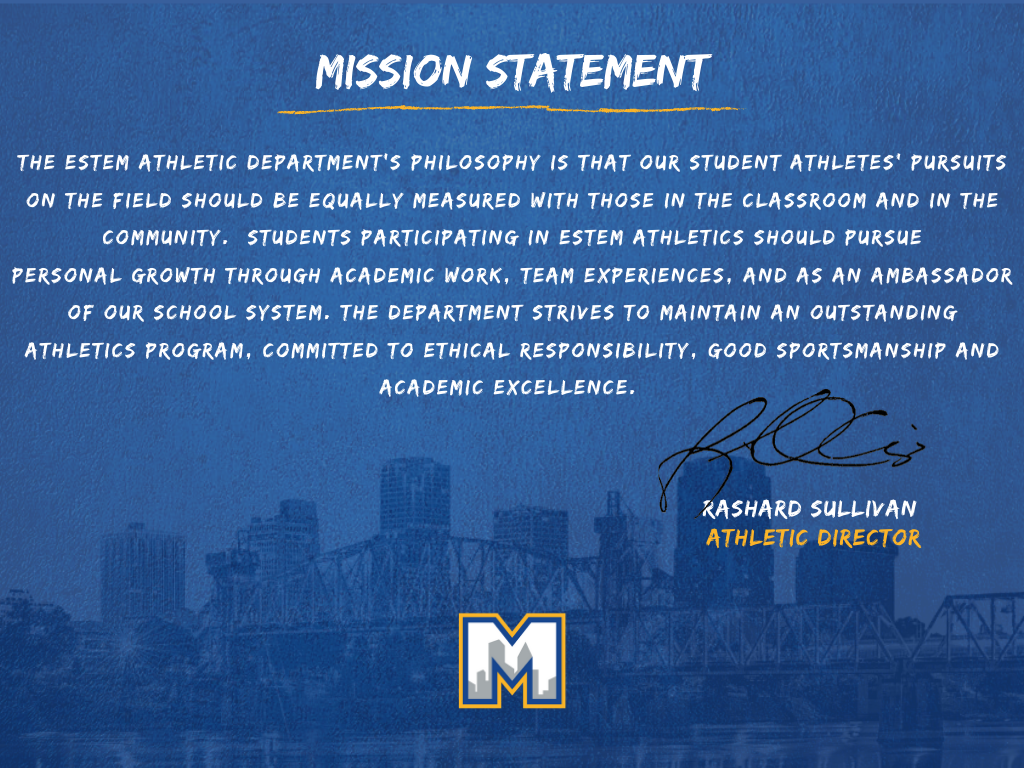 Athletics Mission Statement