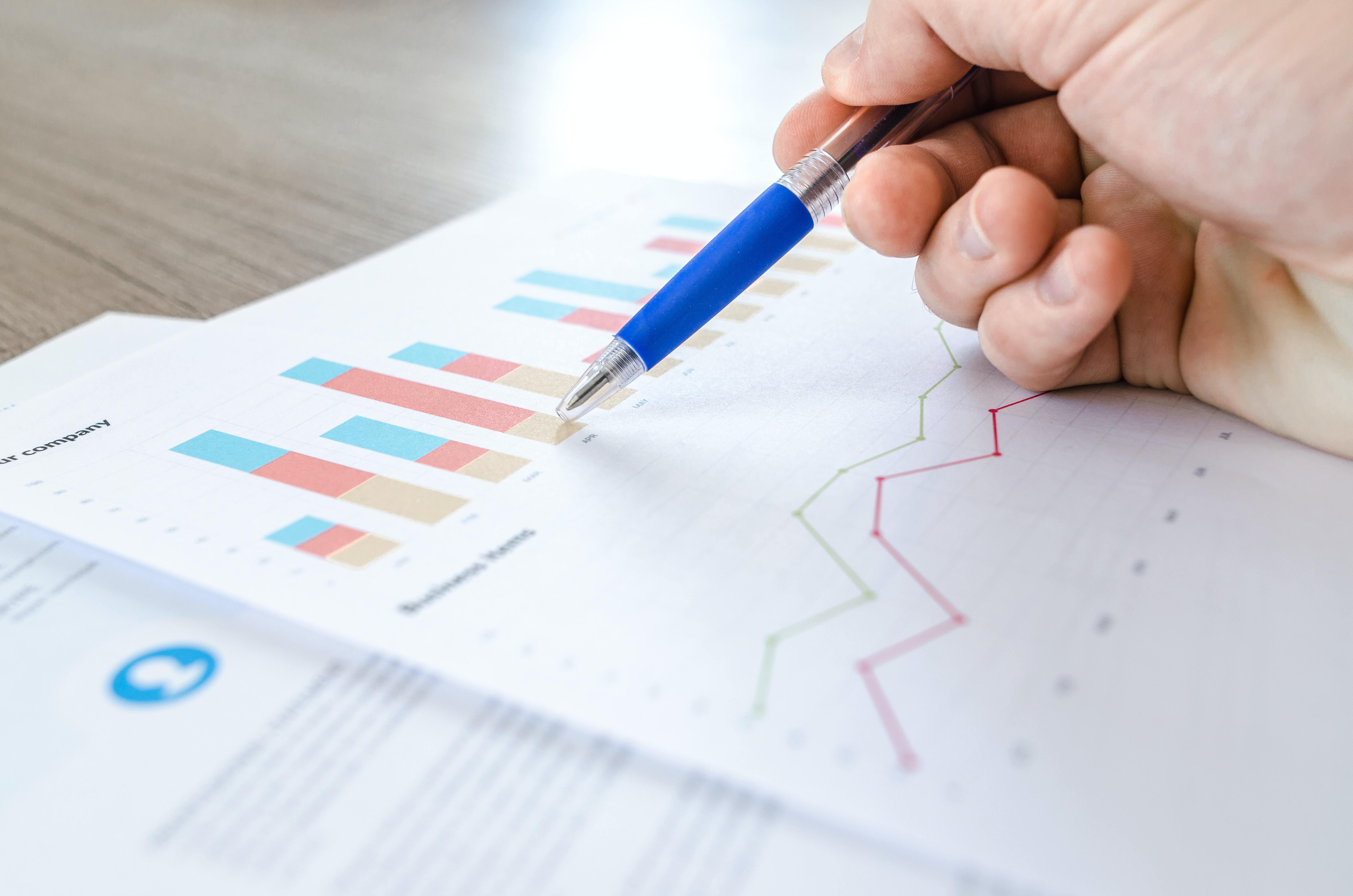 A sheet of charts