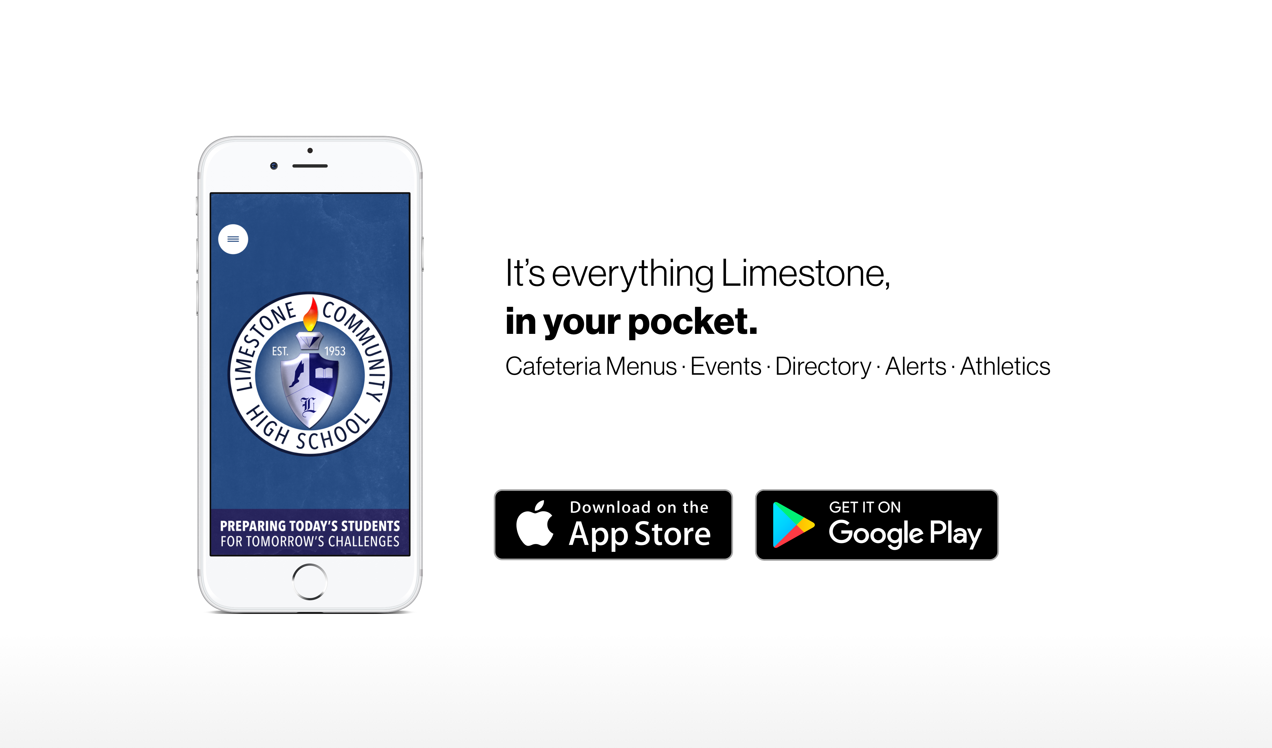 Everything Limestone, in your pocket.