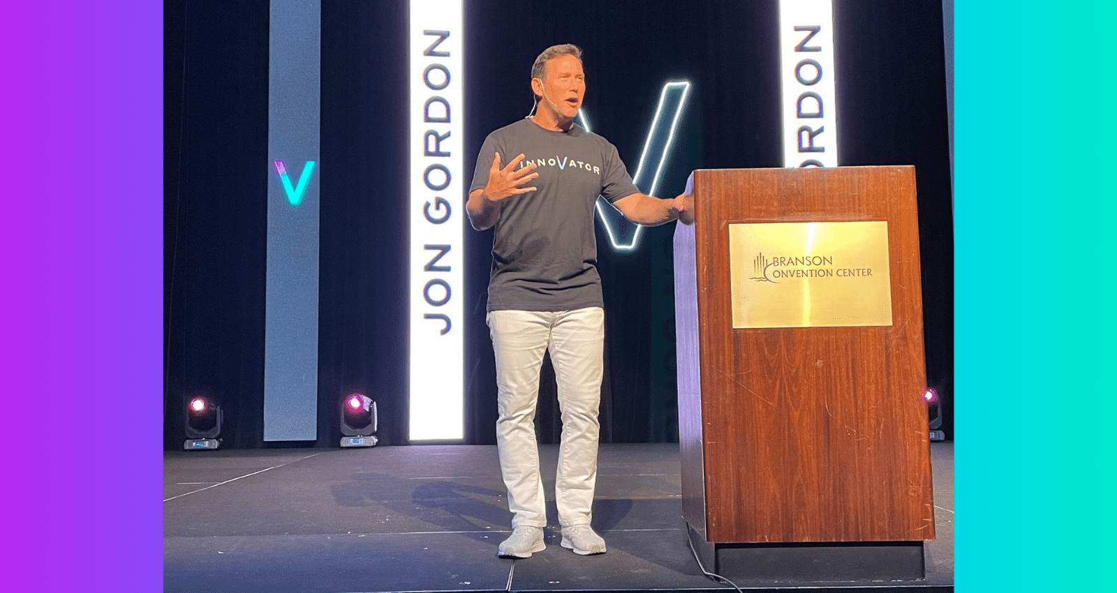 Jon Gordon at Innovation Summit 2021
