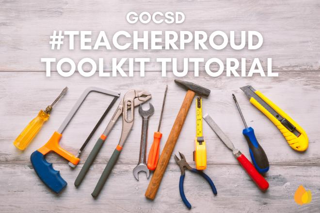 #TeacherProud Toolkit Tutorial