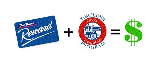 Tom Thumb Good Neighbors Community Partner Program Logo