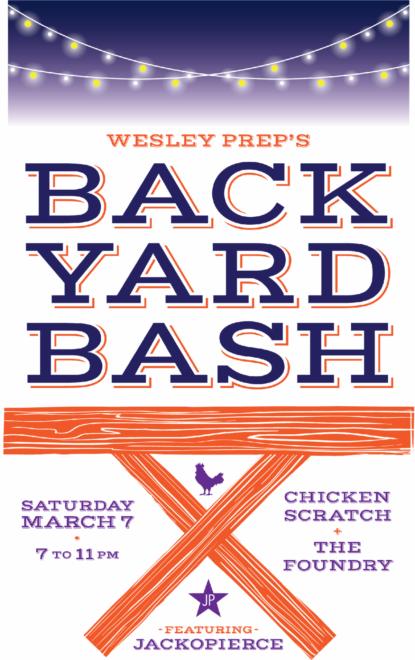 Backyard Bash 2020 Auction Logo