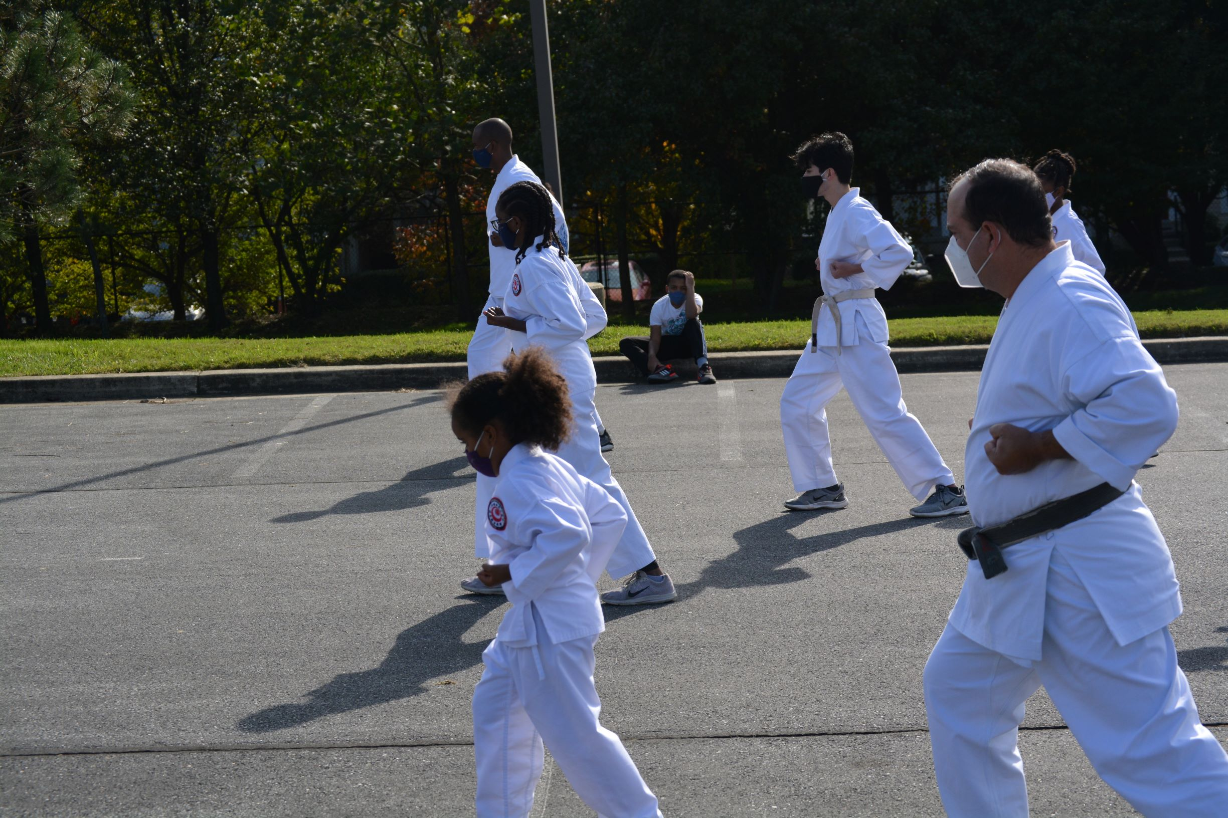 Karate - forward move