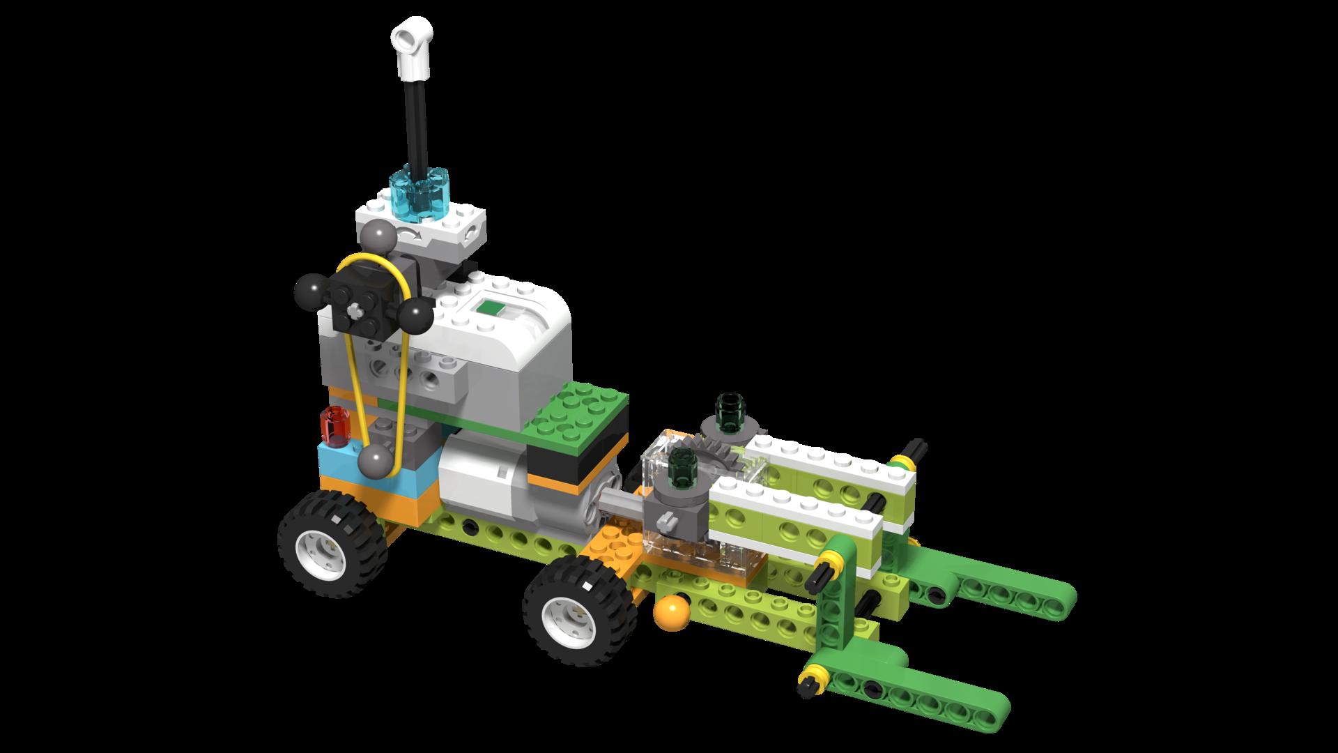 WeDo 2.0 robotic forklift