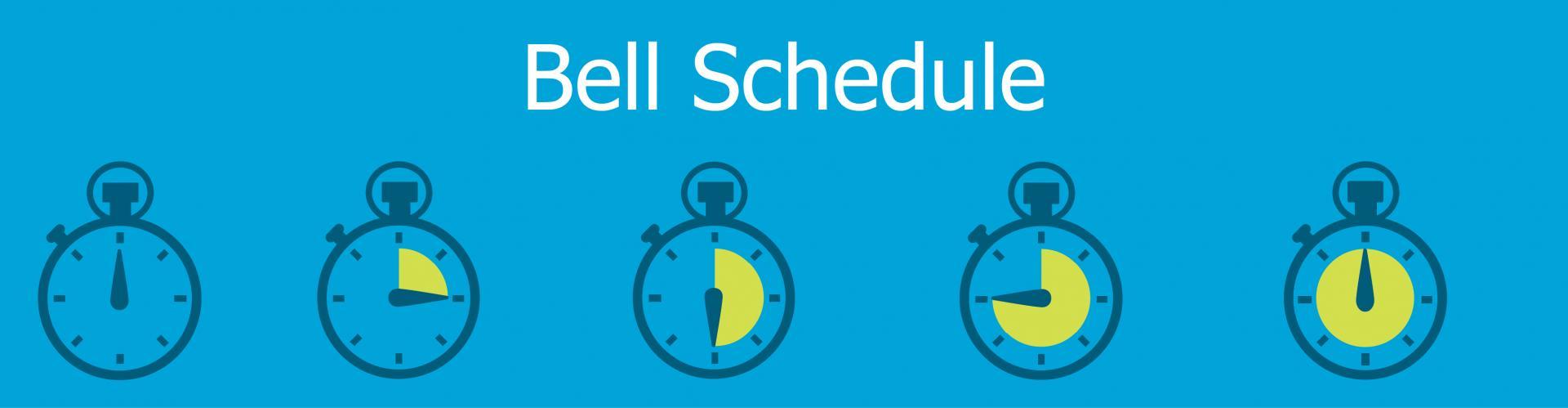 Bell Schedule Banner