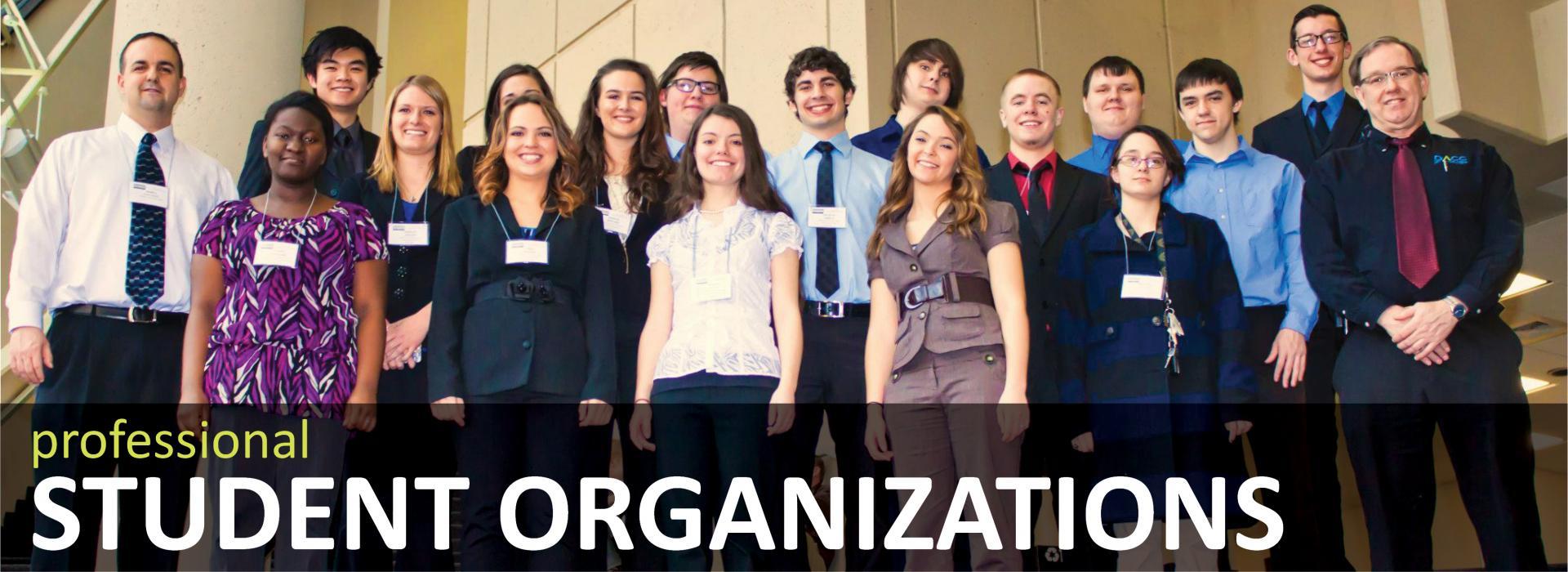 Professional Student Organizations Banner