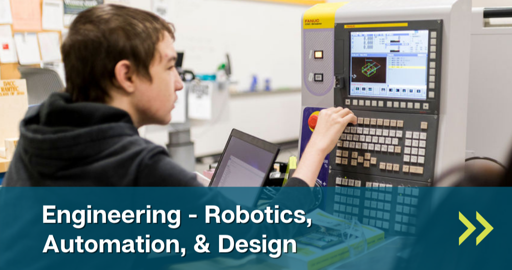 Link to Engineering - Robotics, Automation, & Design lab page