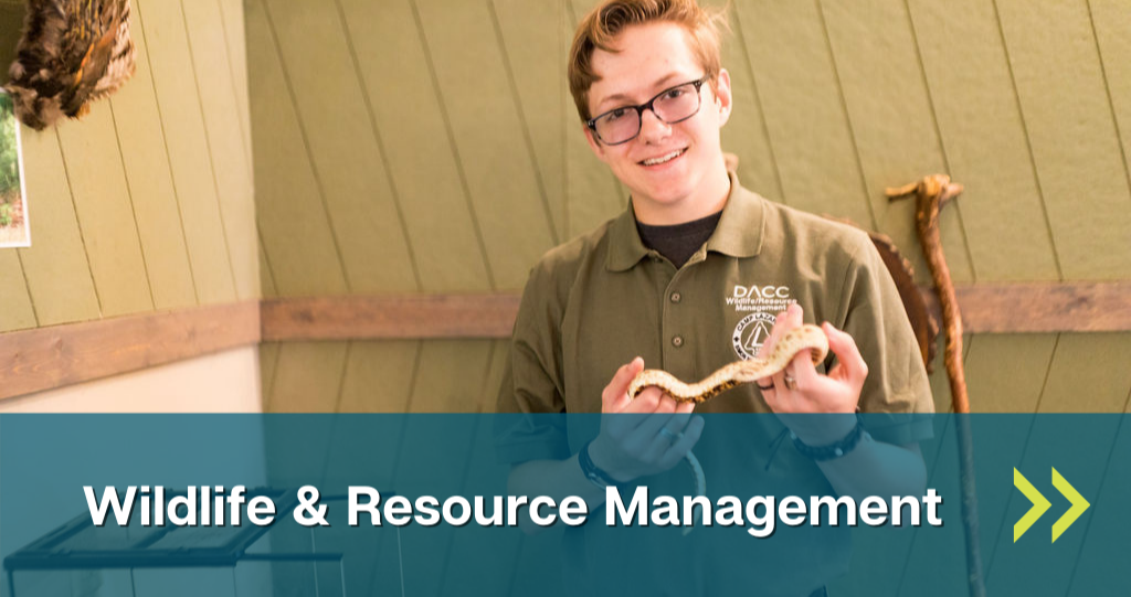 Link to Wildlife and Resource Management lab page