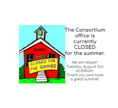 Offices Closed for Summer