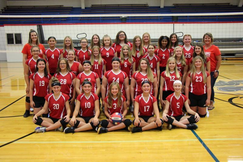2020 Junior High Volleyball