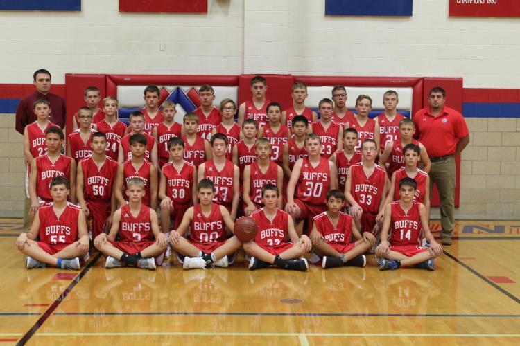 2017 Junior High Boys Basketball