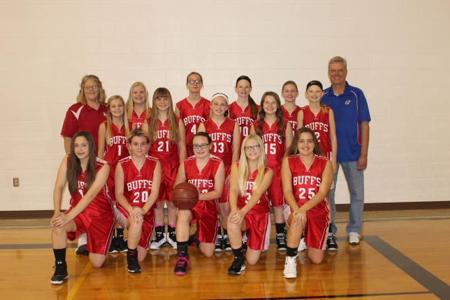 2016 Junior High Girls Basketball
