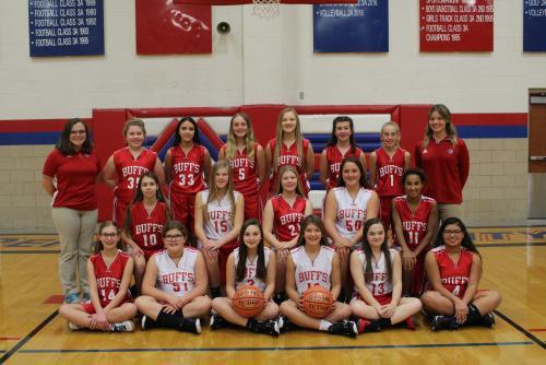 2019 Girls Junior High Basketball