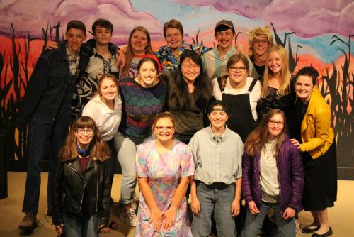 Cast of Leaving Iowa