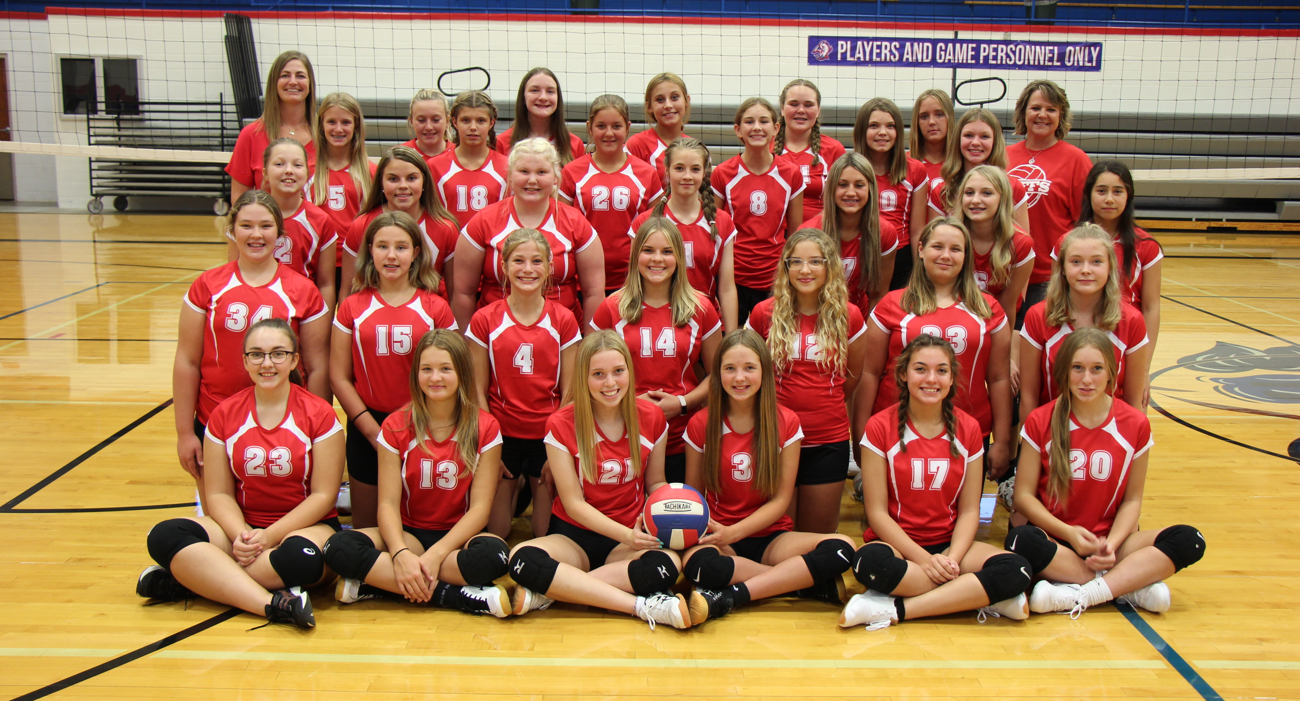 2021 Junior High Volleyball