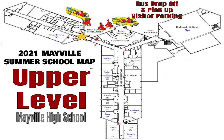 map upper level