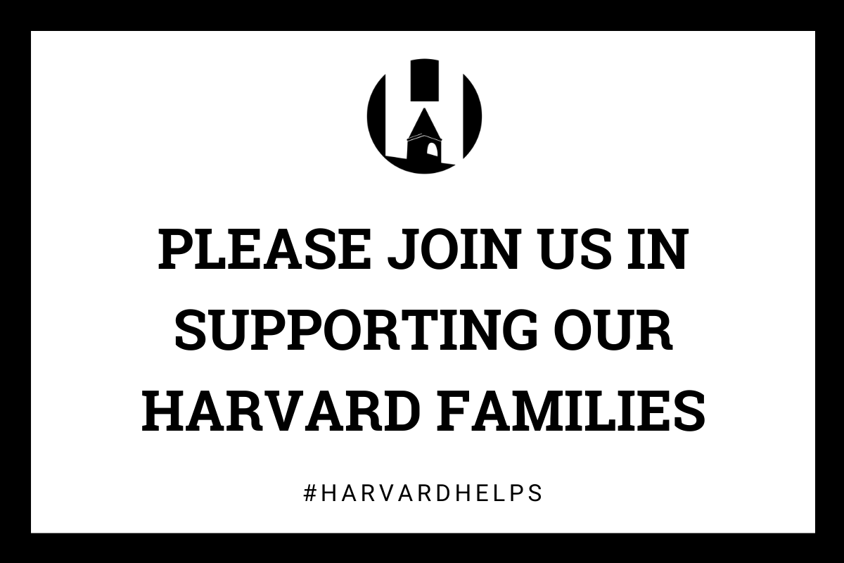 #HarvardHelps