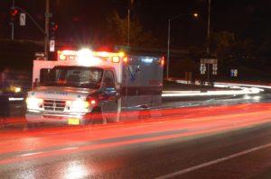 Ambulance Driving Fast