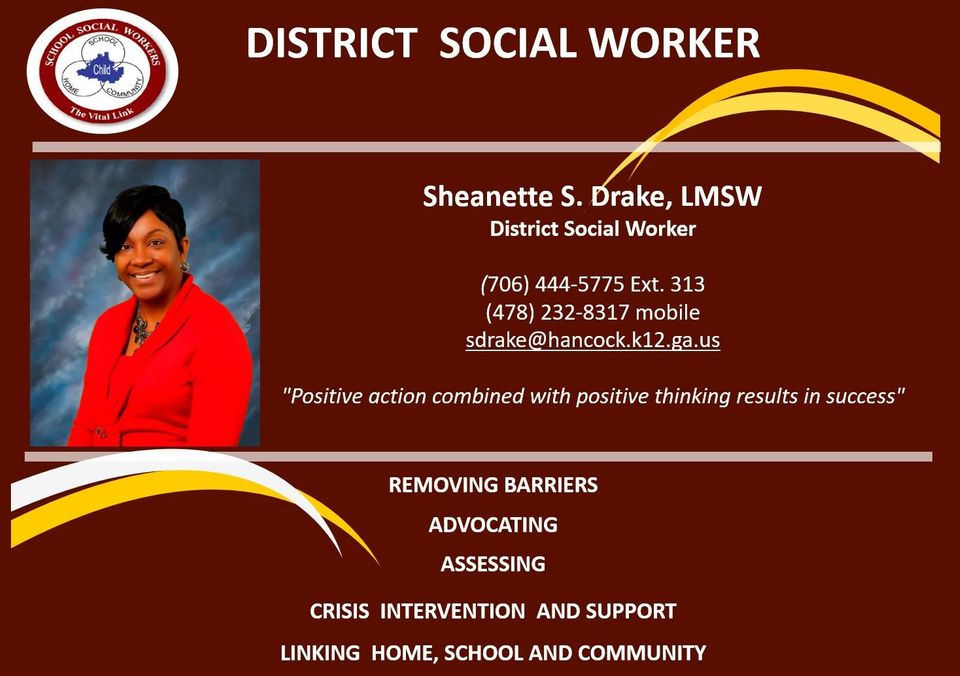 District social worker