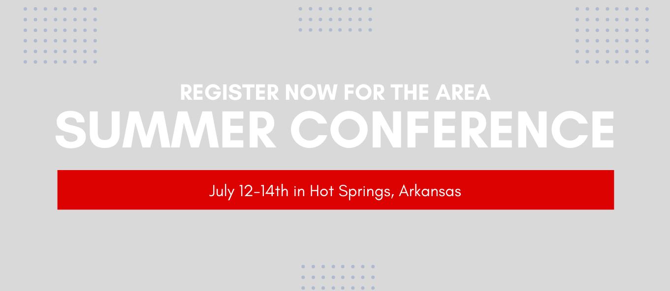 Summer Conference - Sign up today!