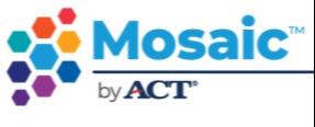 ACT's Mosaic logo