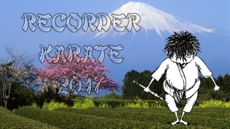 Recorder Karate 2017