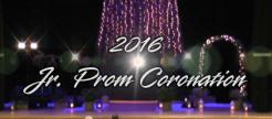 2016 Jr. Prom Coronation
